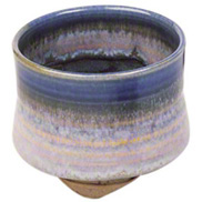 Blue Rim Incense Cup