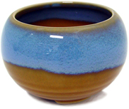 Azure Incense Bowl