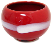 Crimson Incense Bowl