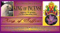 King of Saffron Incense