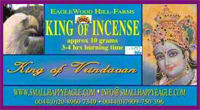 King of Vrindavan Incense
