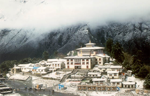 Tengboche Monastery  Copyright © Paul Hahn. All rights reserved.