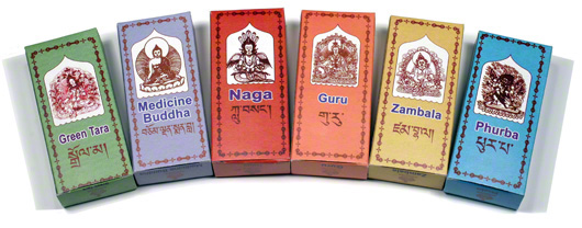 Sonam Incense Powder Gift Pack